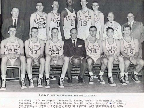 NBA, stagione 1956-57: inizia il lungo dominio dei Boston Celtics