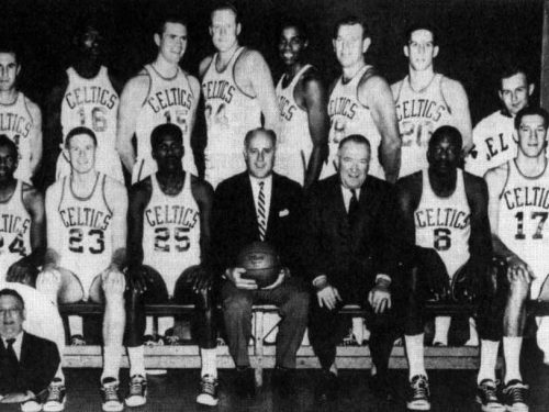 NBA, stagione 1963-64: le prime Finals tra Bill Russell e Wilt Chamberlain