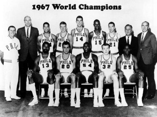 NBA, stagione 1966-67: Wilt Chamberlain spezza il dominio dei Celtics