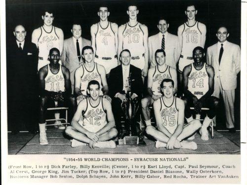 """NBA, stagione 1954-55: il trionfo """"sospetto"""" dei Syracuse Nationals"""