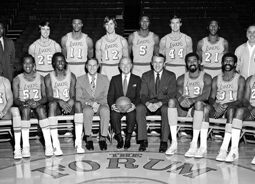NBA, stagione 1971-72: il trionfo dei Lakers di Wilt Chamberlain e Jerry West