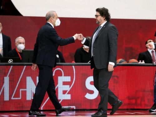 Messina vs Trinchieri: la sfida tattica tra Olimpia Milano e Bayern Monaco
