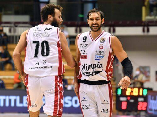 Moraschini MVP: Milano in semifinale con la profondità del roster